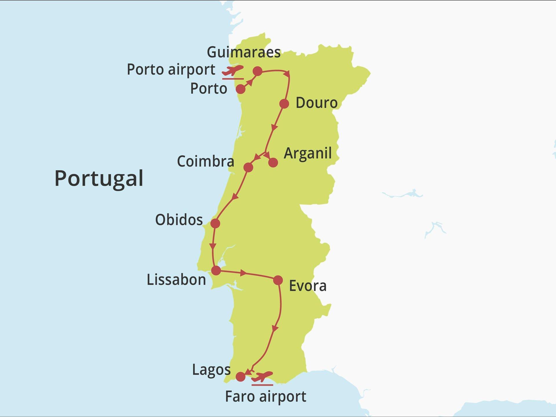 Fly-drive Van noord naar zuid (hotels) 15 dagen