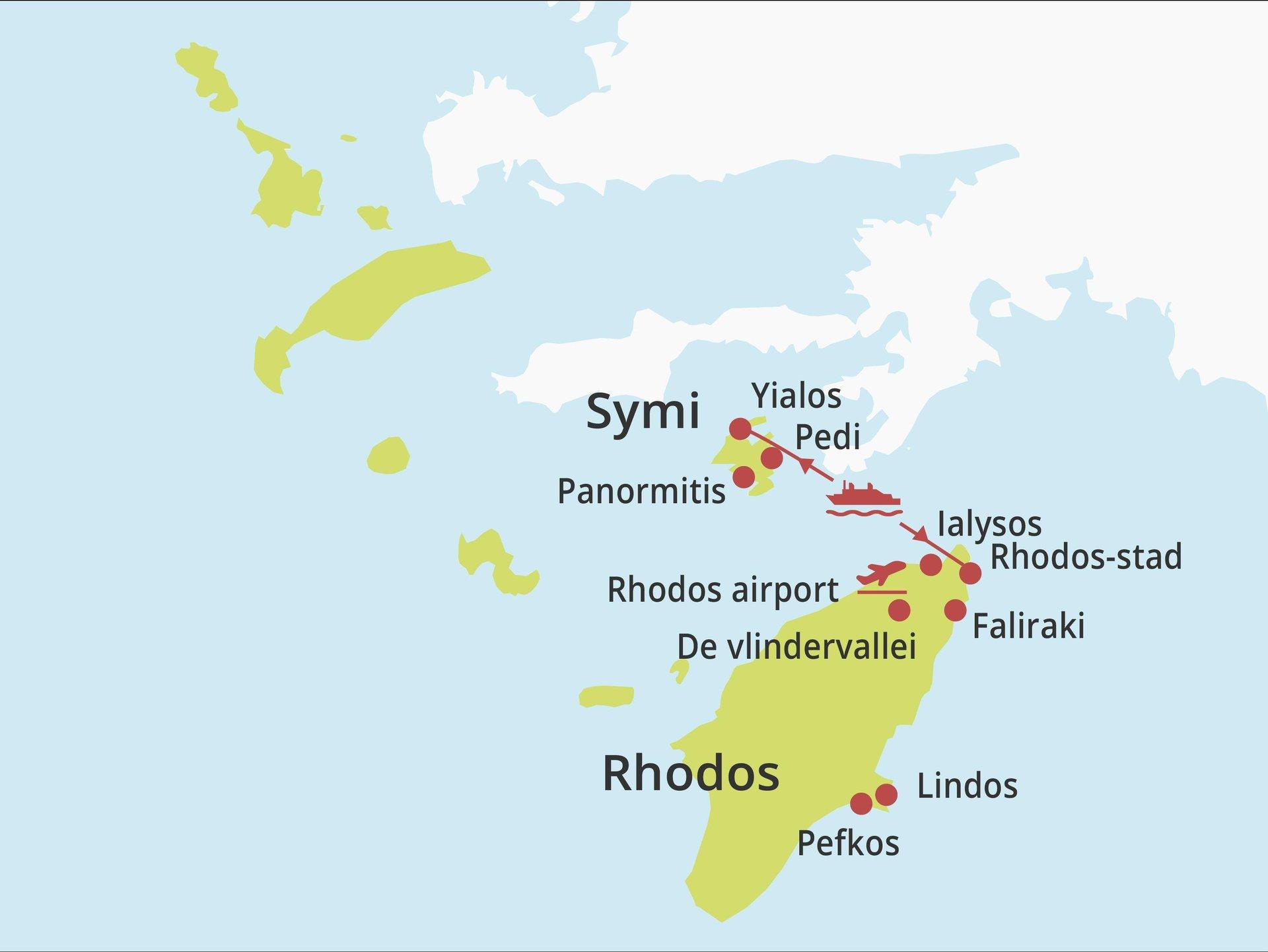 Eilandhoppen Rhodos - Symi
