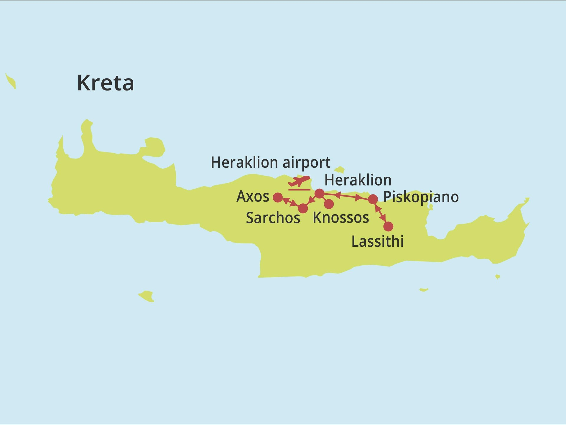 Fly-drive Kreta - Couleur Locale