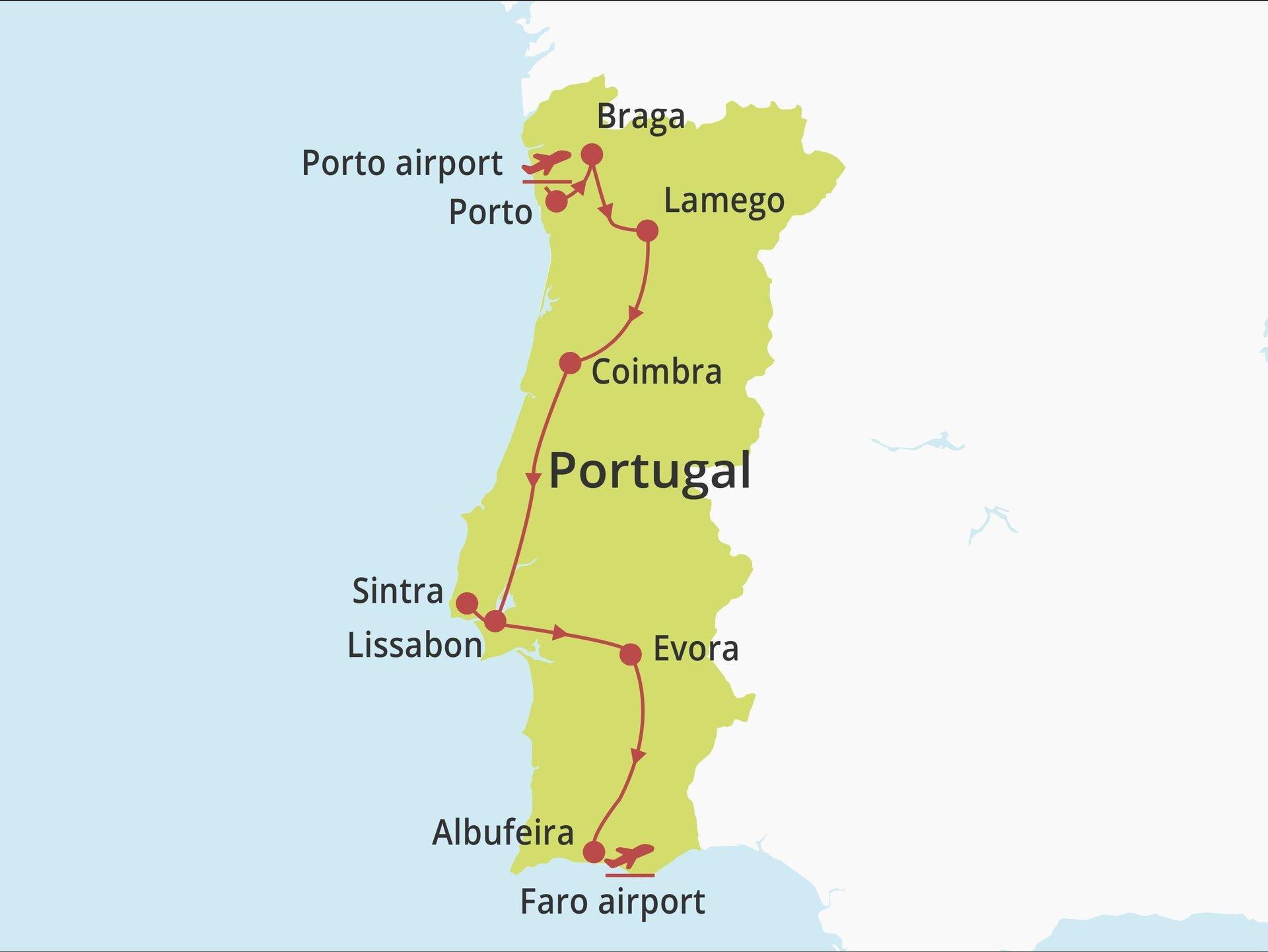 Fly-drive Ontdek Portugal met Vila Galé