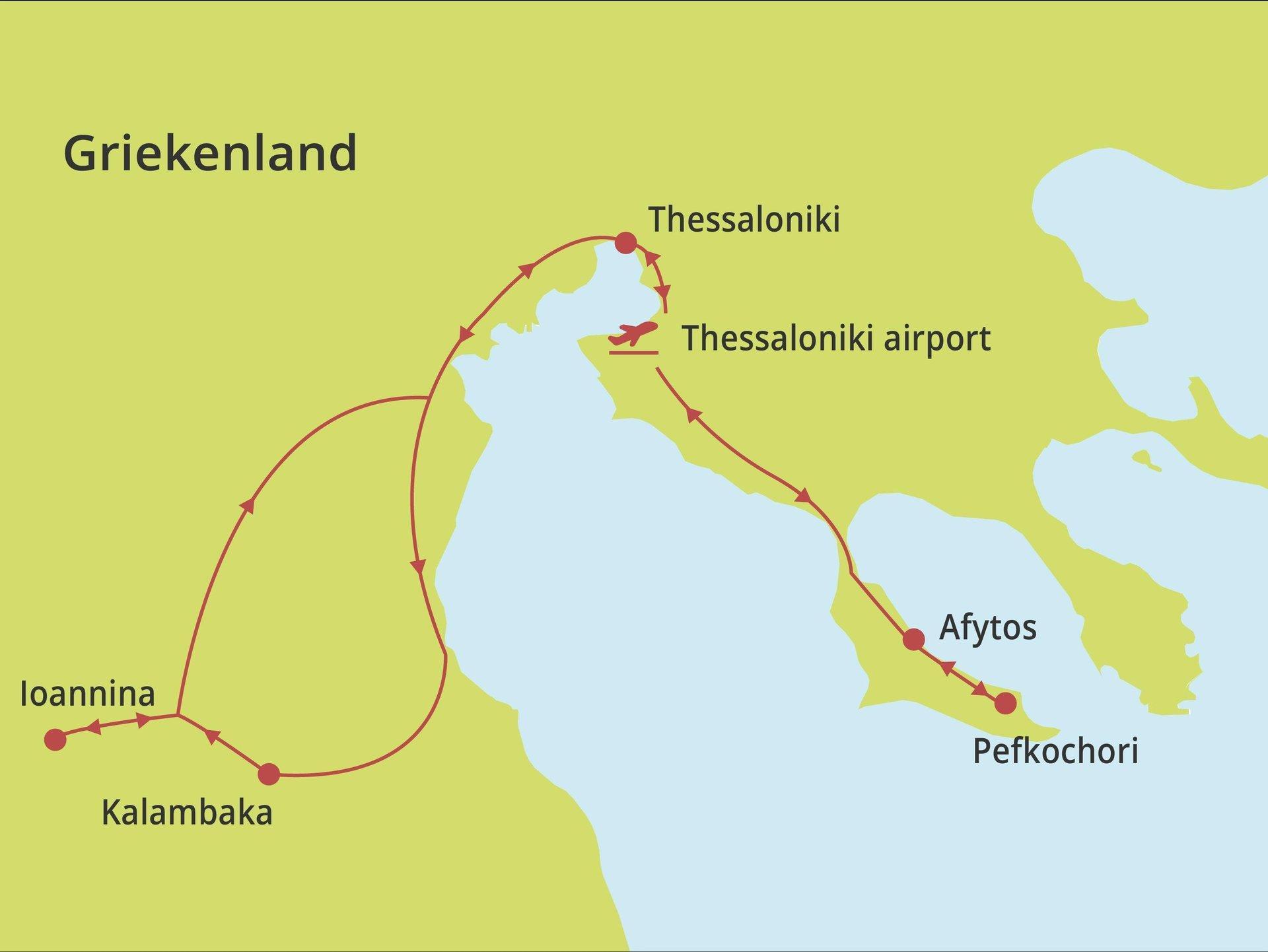 Fly-drive Noordelijk Hellas & Ioannina