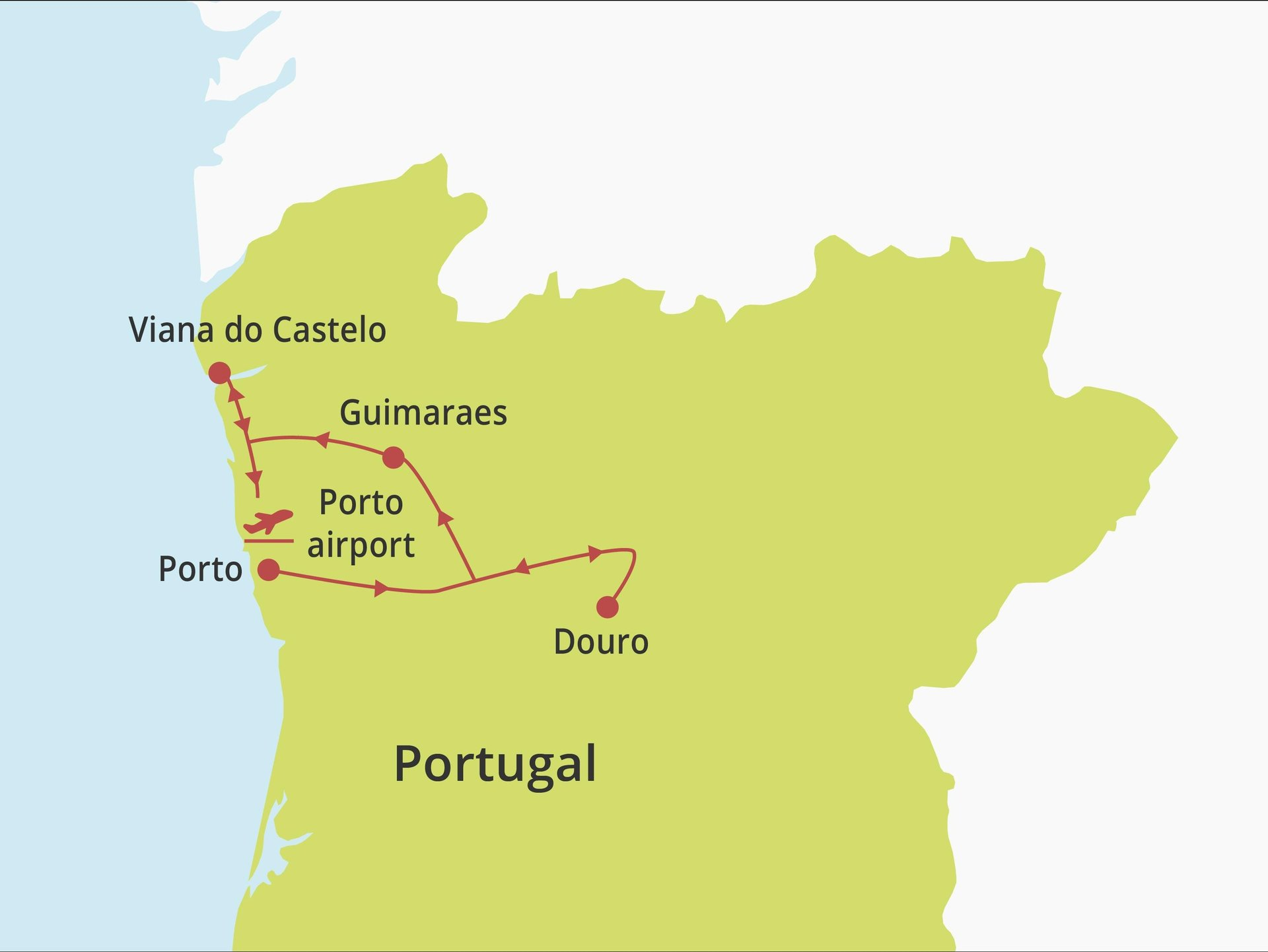 Fly-drive Noord Portugal (hotels) 8 dagen