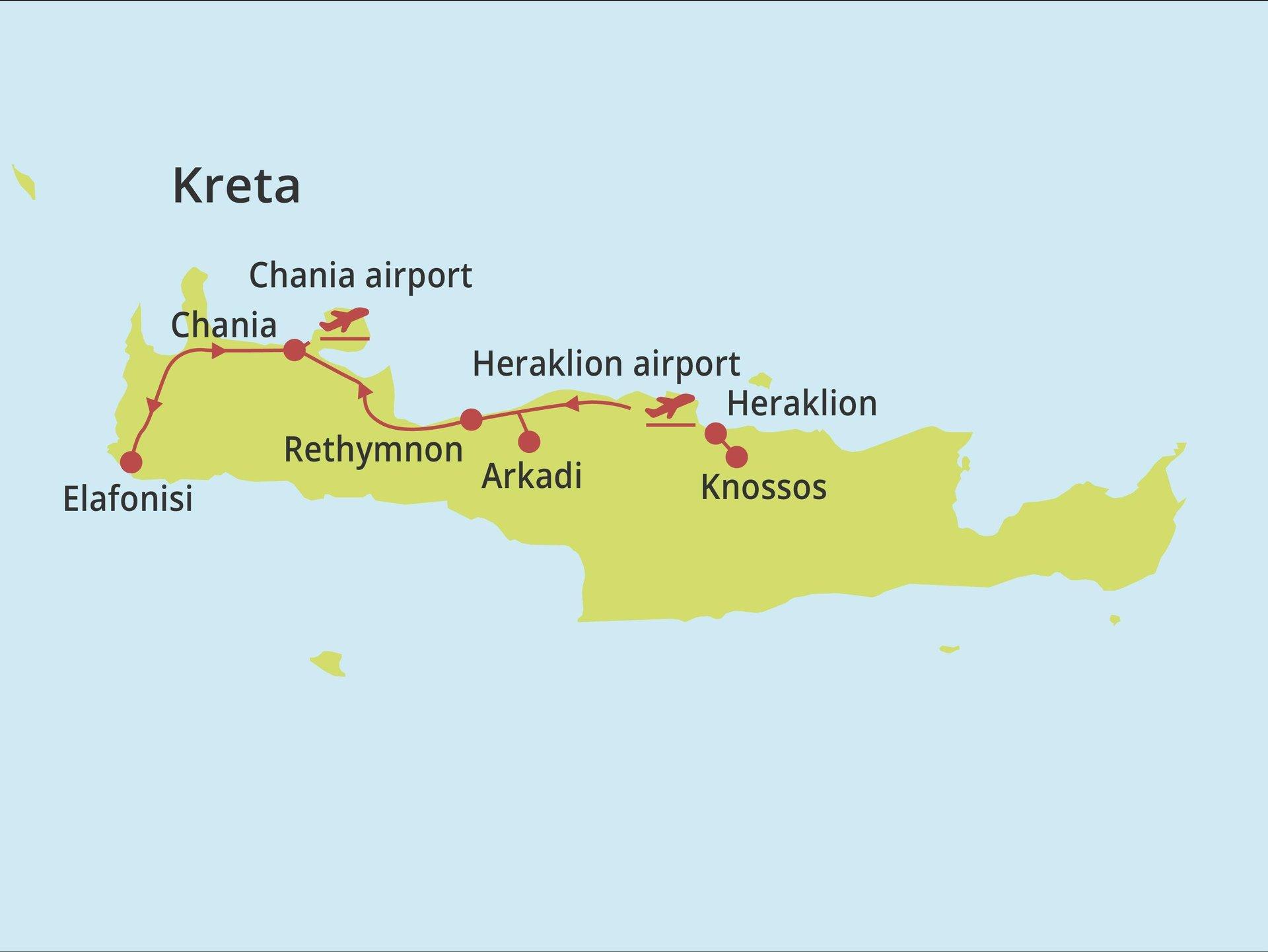 Fly-drive Kreta - Venetiaanse haventjes