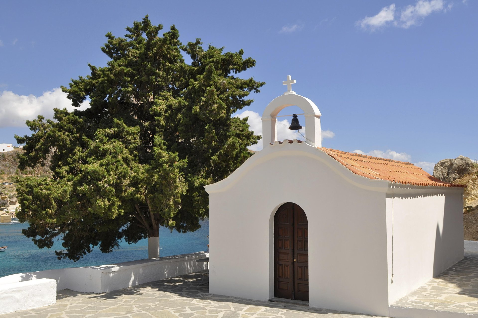 Kerkje op Rhodos
