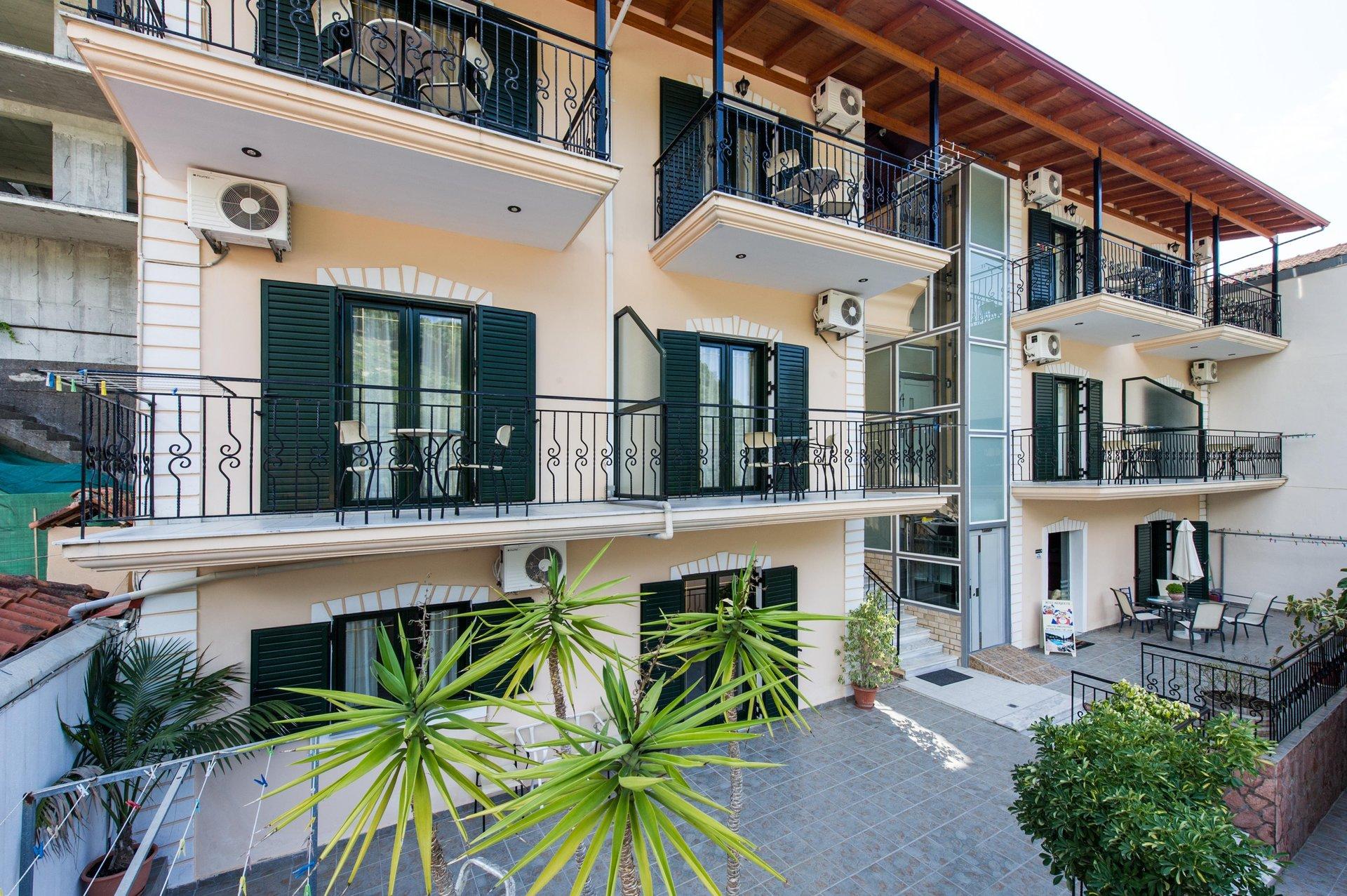 Appartementen Margarita - exterieur
