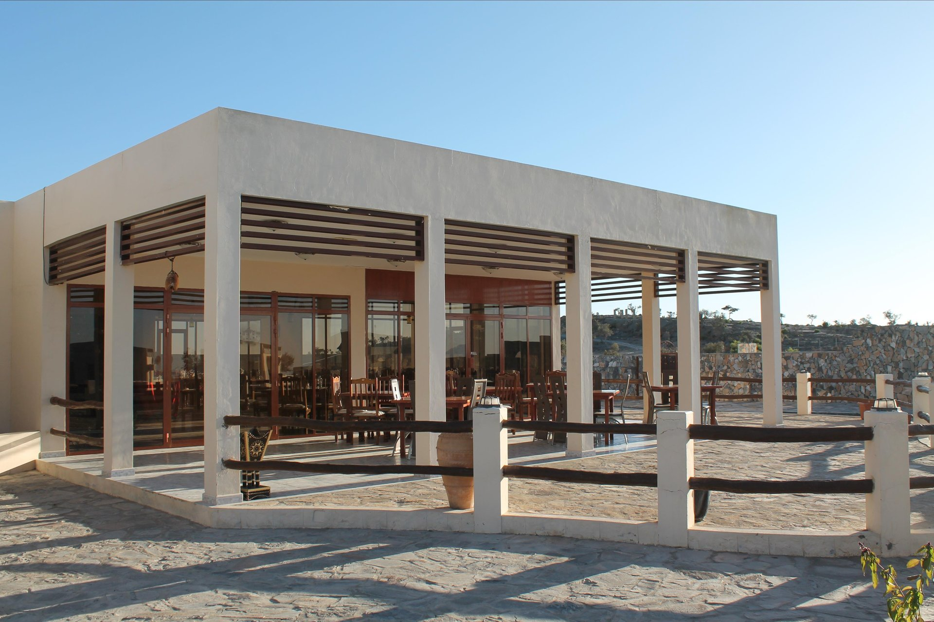 Jebel Shams Resort restaurant- Jebel Shams