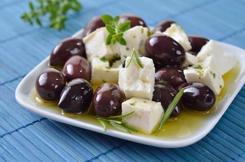 Kalamata olijven & feta