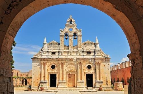 Kreta - klooster van Arkadi