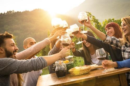 Santorini - wine tasting