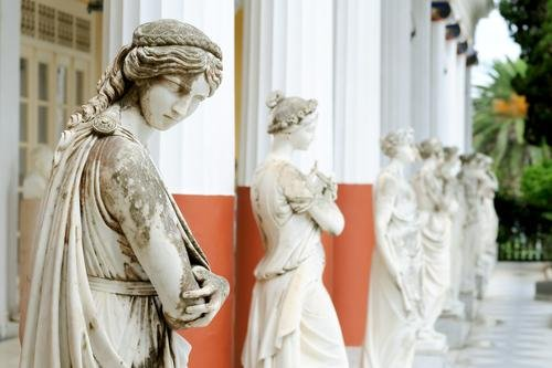 Corfu - Achilleon Palace