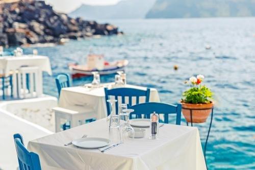 Santorini - restaurant