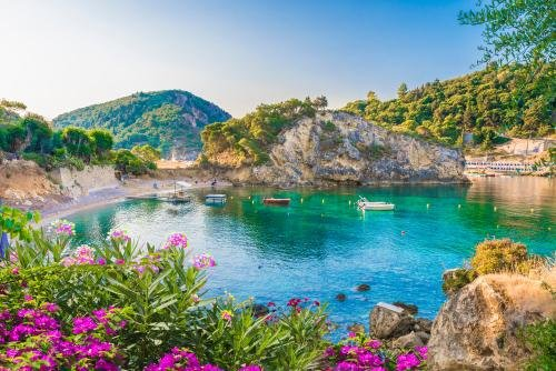 Corfu - Palaiokastritsa baai