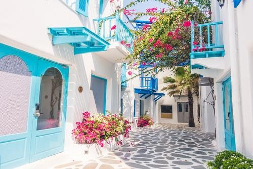 Mykonos - stad