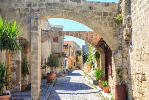 Rhodos - oude stad