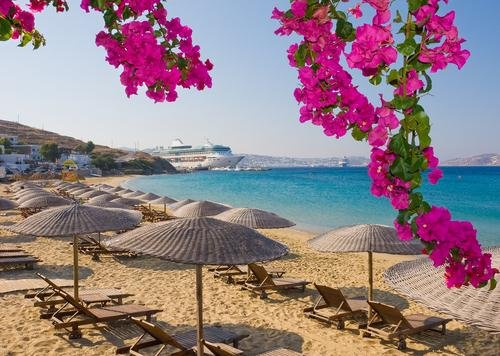 Mykonos - strand