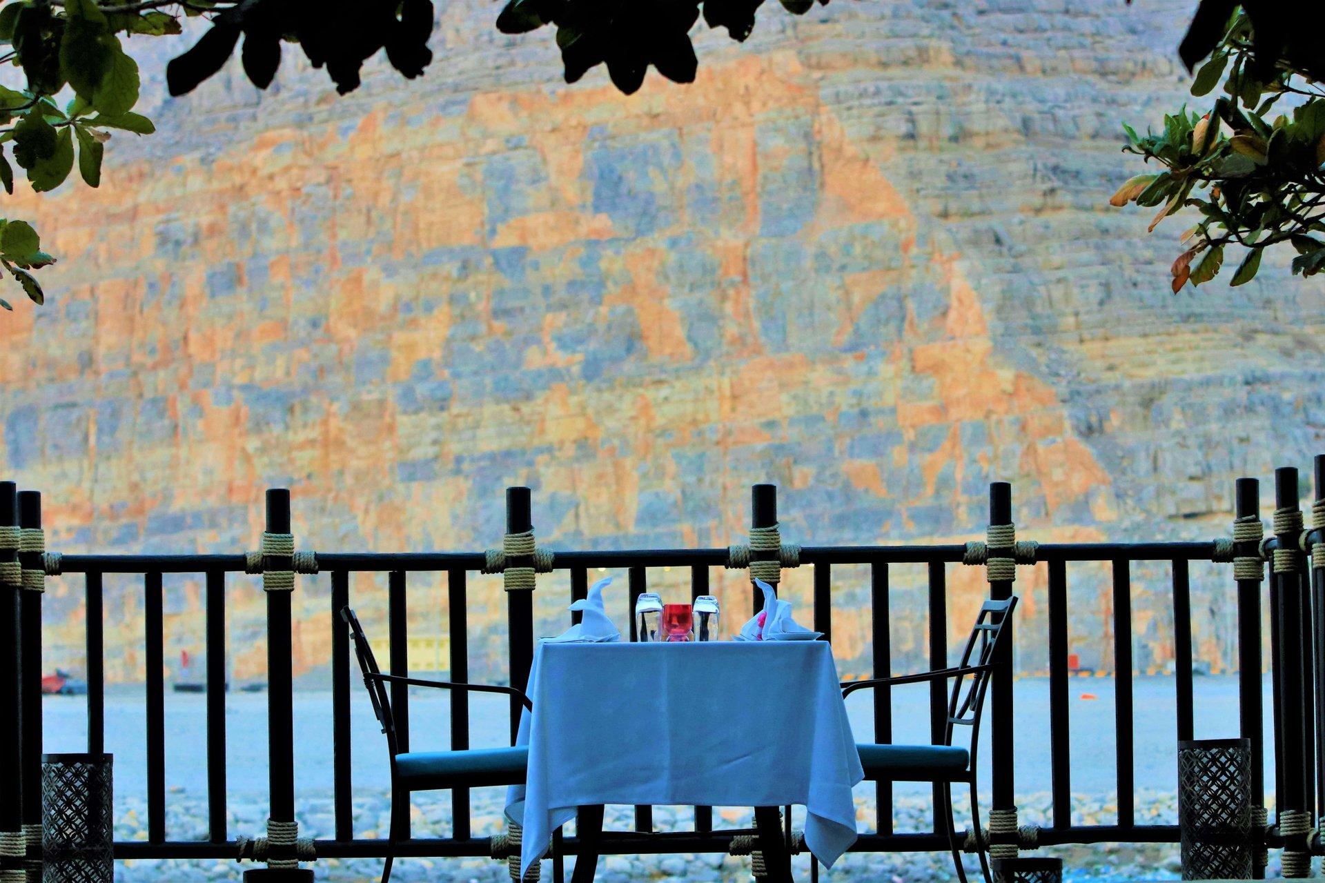 Hotel Atana Musandam terras - Khasab, Musandam