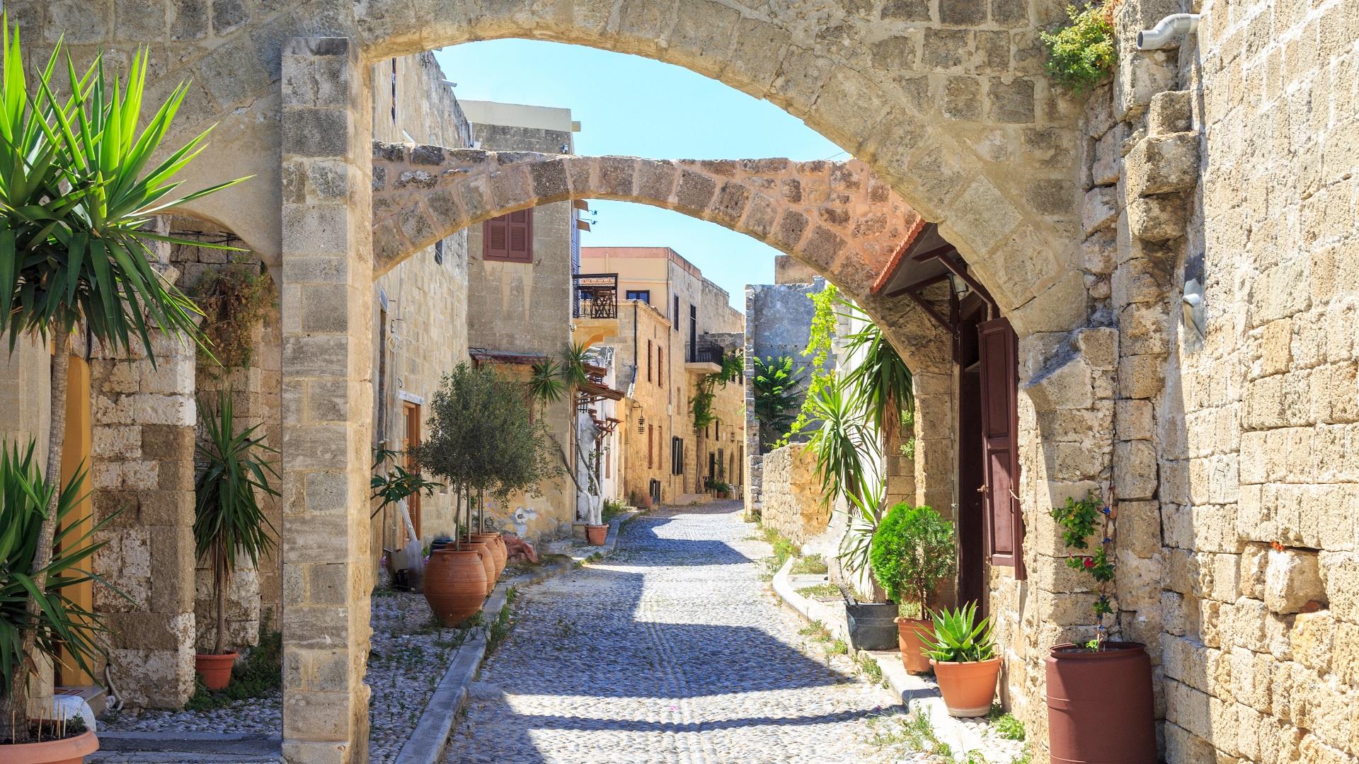 Rhodos oude stad
