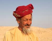 Oman Omani boer met Muzzar
