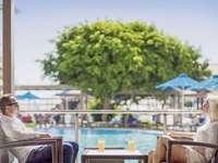 Esperides Beach - Rhodos - terras aan zwembad