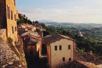 Italie Toscane Montepulicano daken &Olives