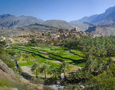 Dorp Bilad Sayt, Oman