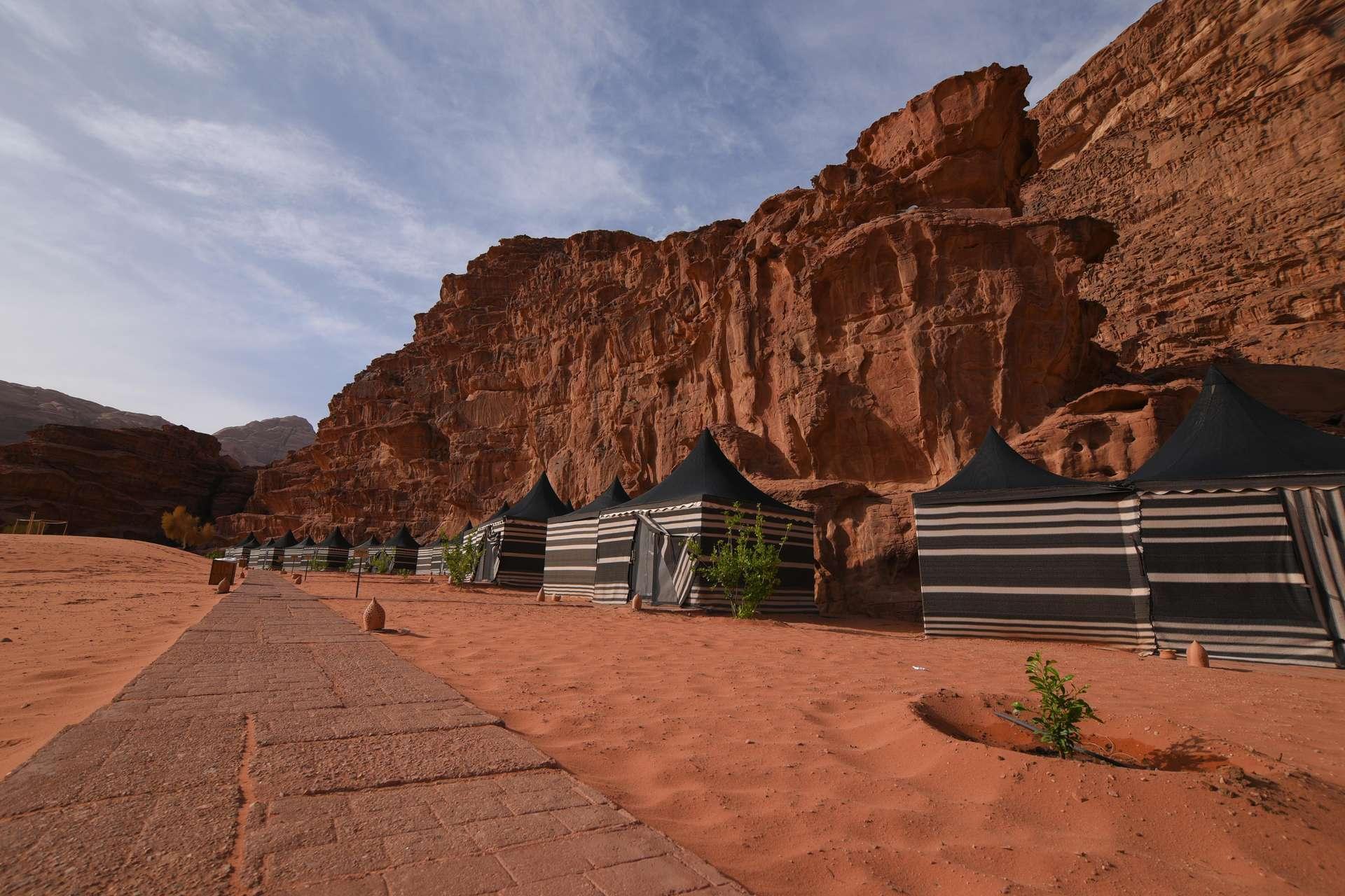 Wadi Rum Night Luxury Camp luxe tenten - Wadi Rum