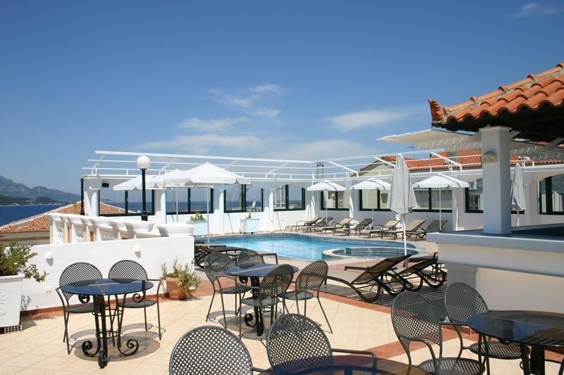 Hotel Samos - dakterras
