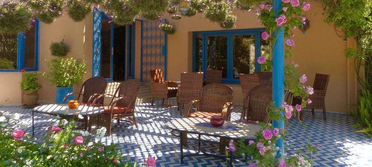 Villa Mandarine terras - Rabat