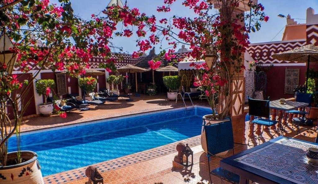 Le Petit Riad zwembad - Ouarzazate