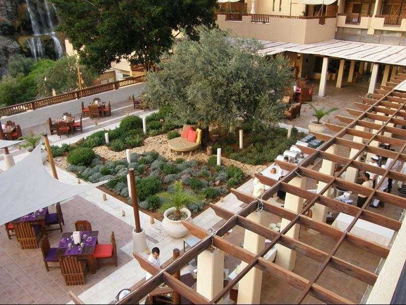Ma'in Hot Springs Resort & Spa terras