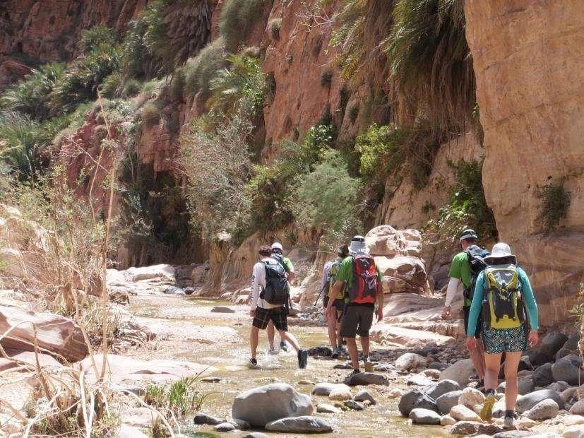 Feynan Ecolodge hike in de omgeving - Dana