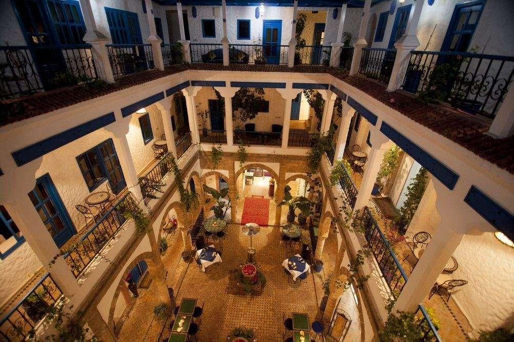Riad Al Madina patio - Essaouira