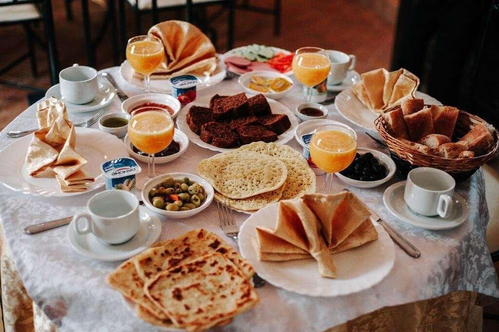 Kasbah Rayane ontbijt - Ait Benhaddou