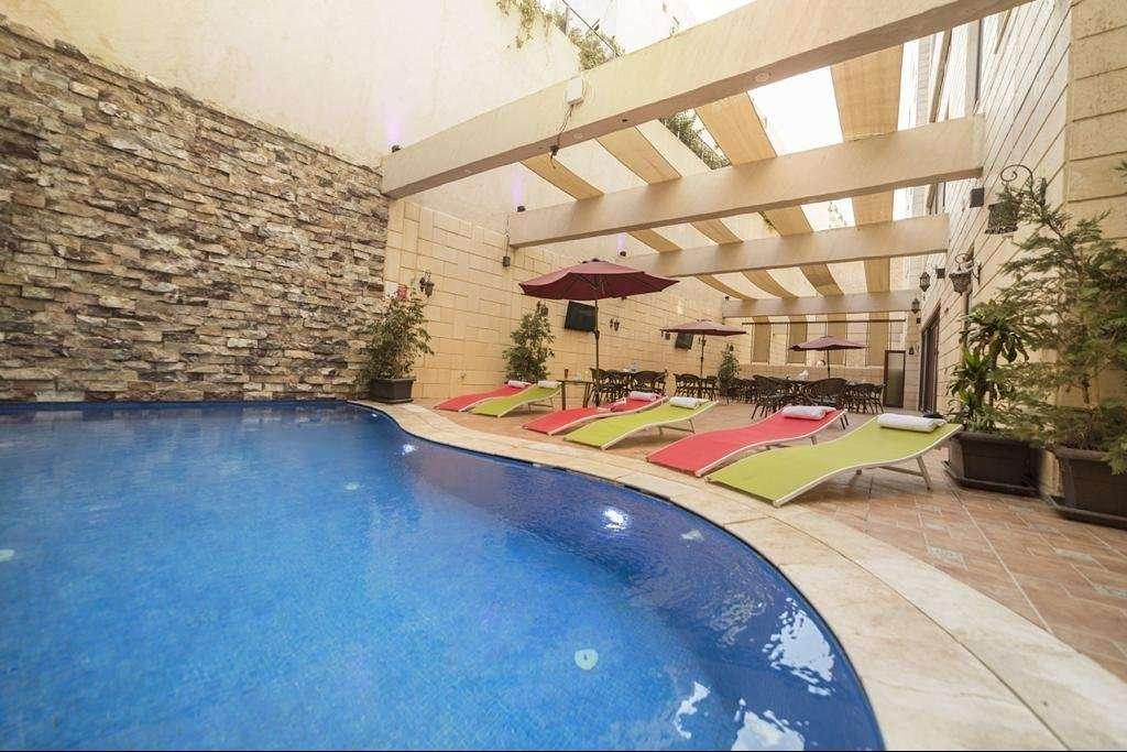 Hotel Gerasa zwembad - Amman