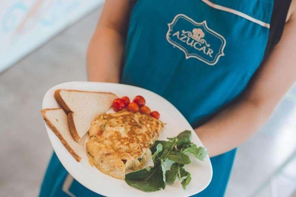 Hotel Atma Beach - ontbijt in Azucar Café