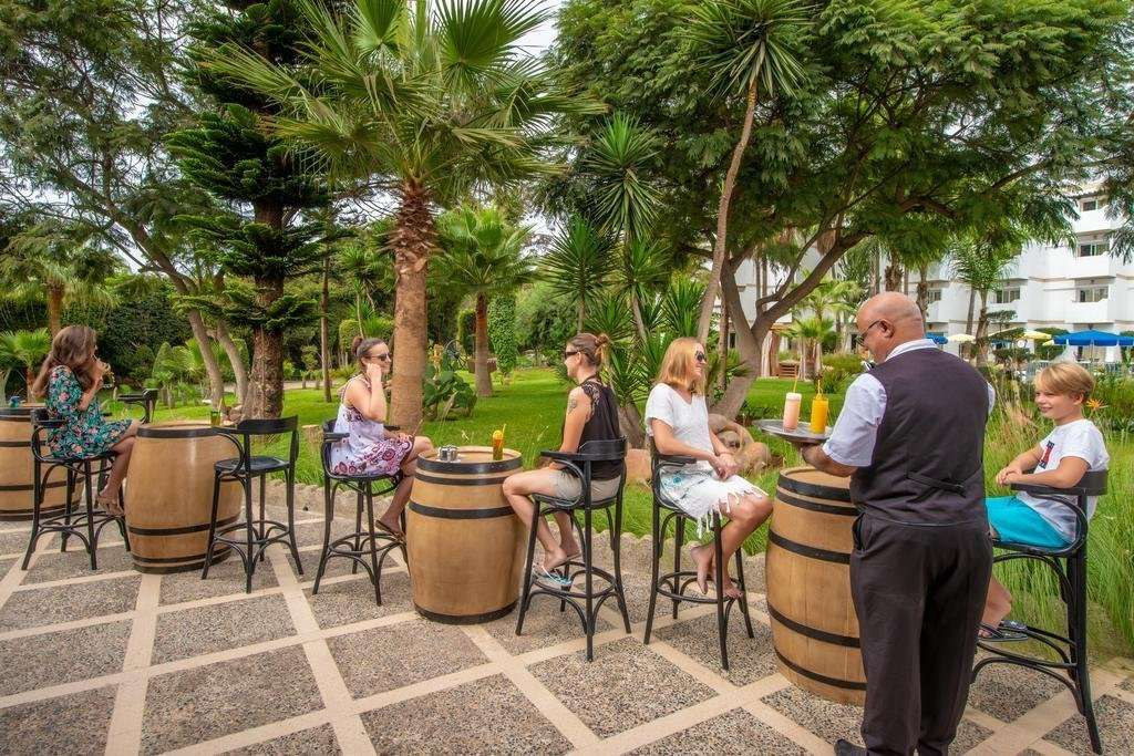Hotel Odyssee Park terras - Agadir