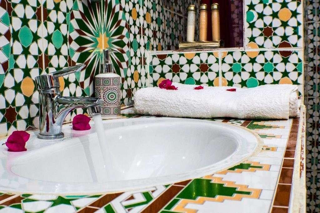 Le Petit Riad badkamer - Ouarzazate