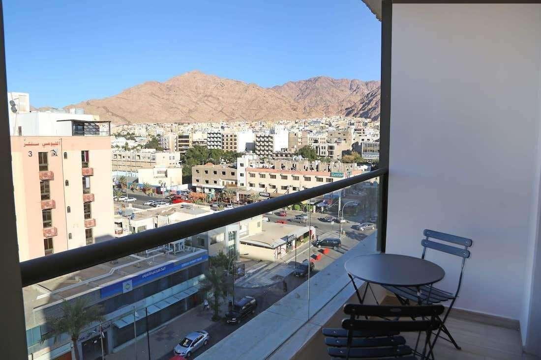 Hotel Lacosta luxe kamer balkon - Aqaba
