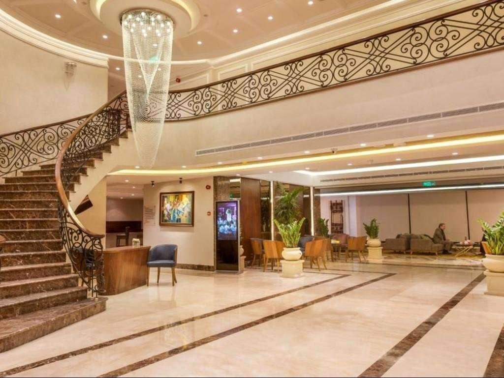 Hotel Gerasa lobby - Amman
