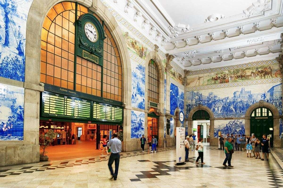 Portugal - Porto stad - Sao Bento Station