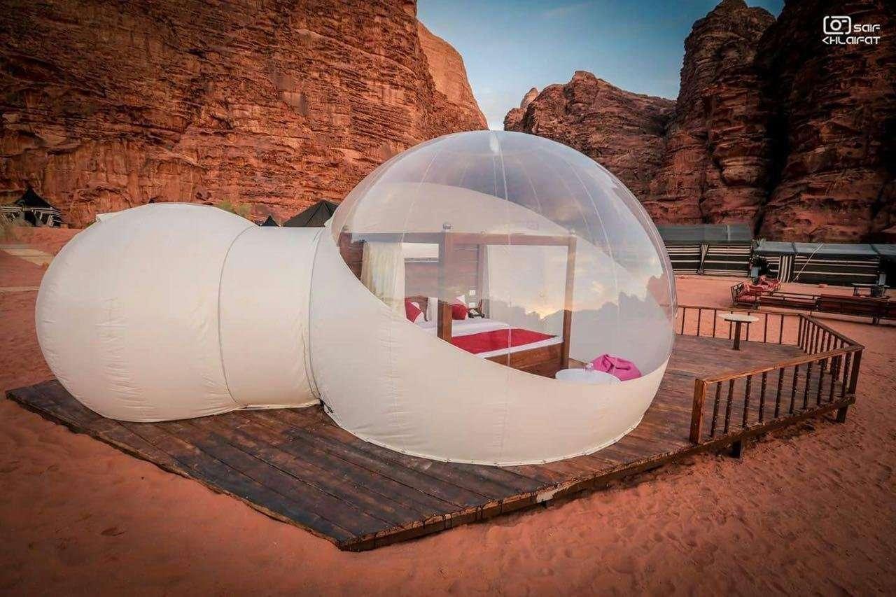 Wadi Rum Night Luxury Camp full of stars tent - Wadi Rum