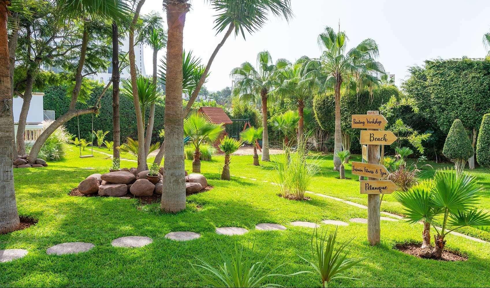 Hotel Odyssee Park tuin - Agadir
