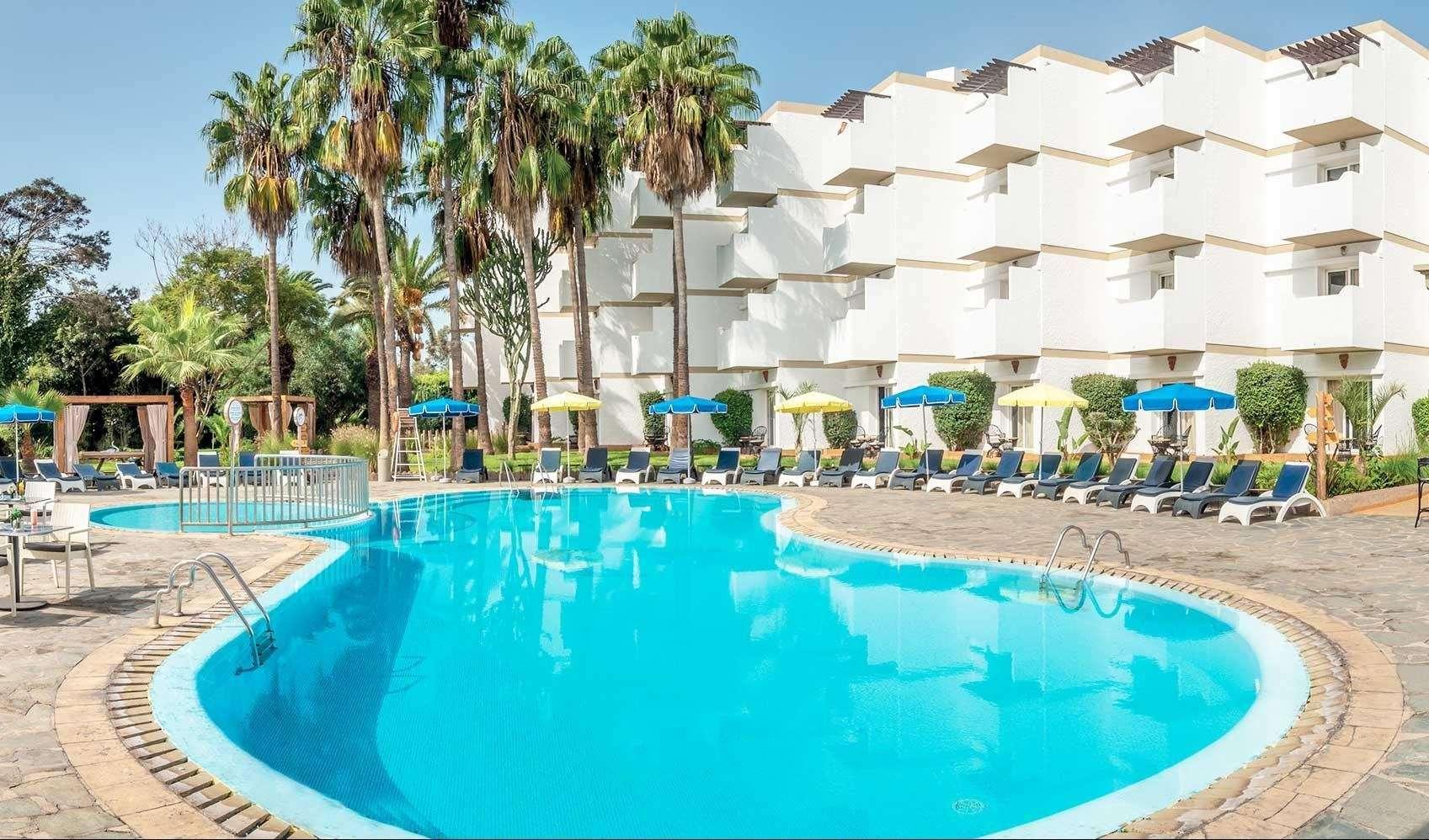 Hotel Odyssee Park zwembad - Agadir