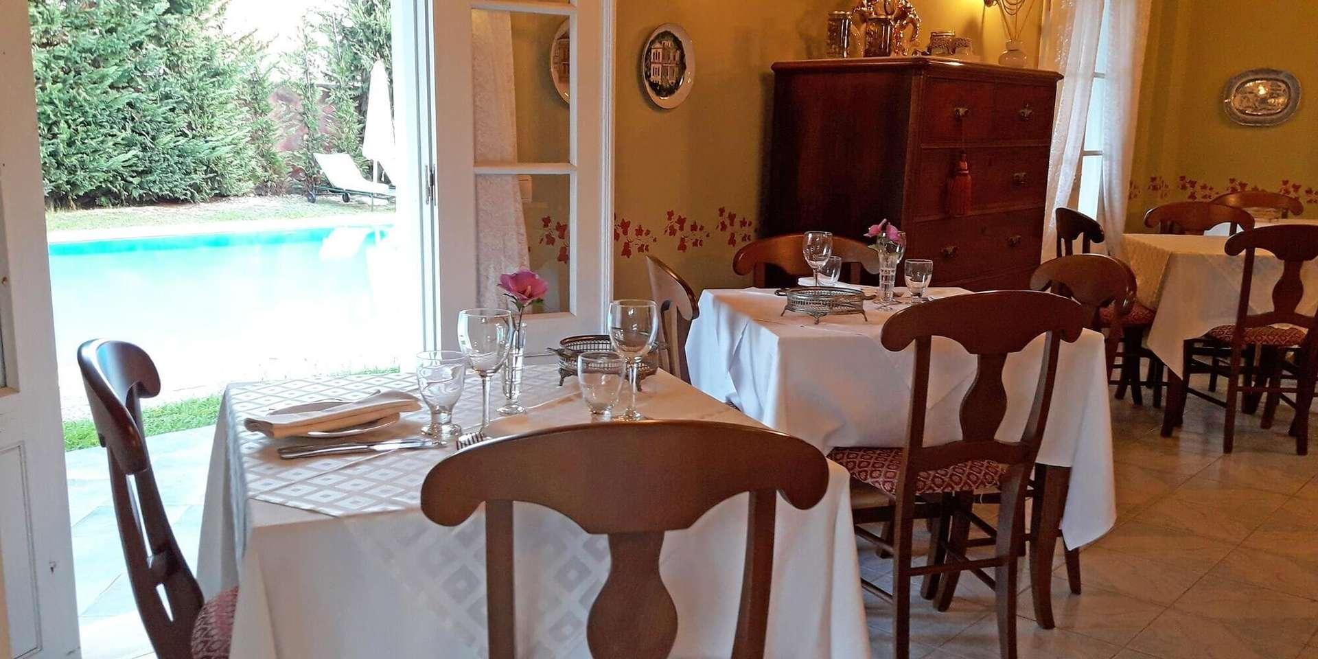 Villa de Loulia - restaurant