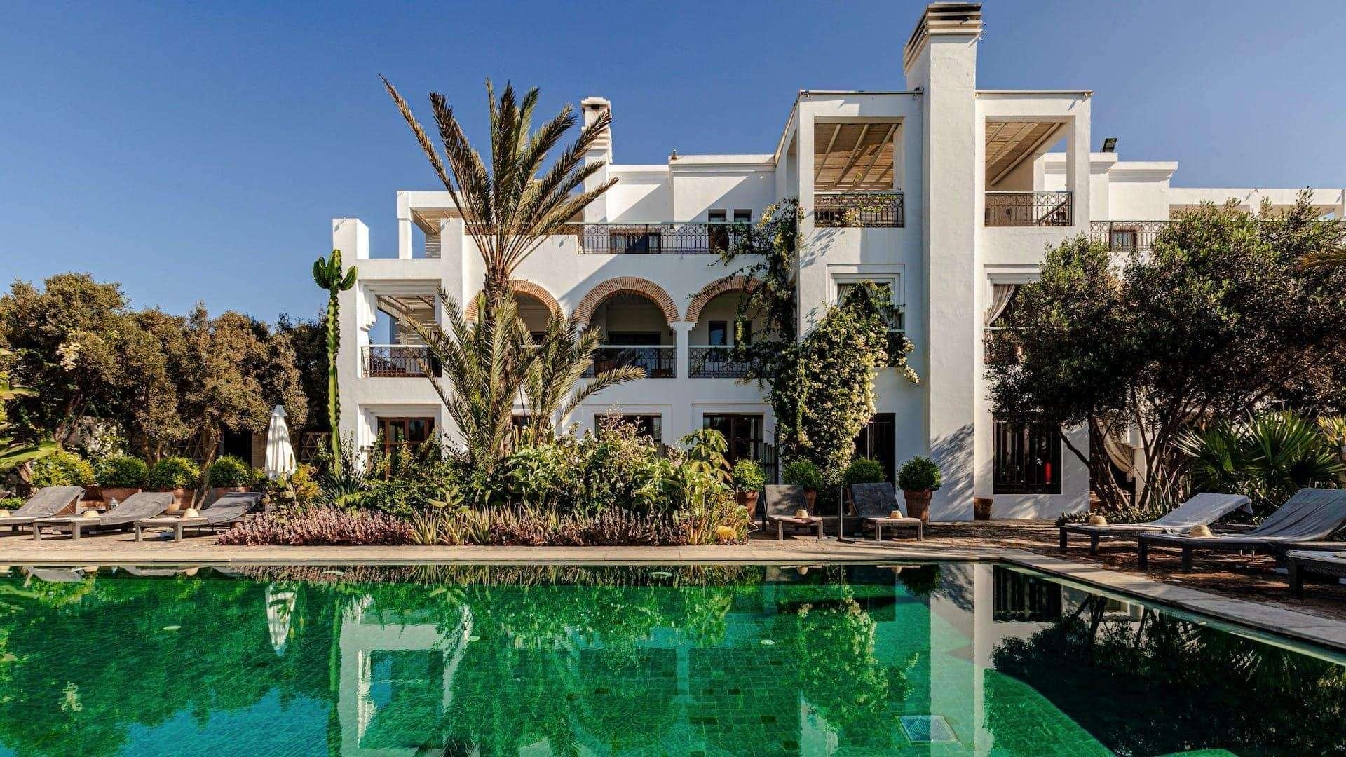 Riad Villa Blanche zwembad - Agadir