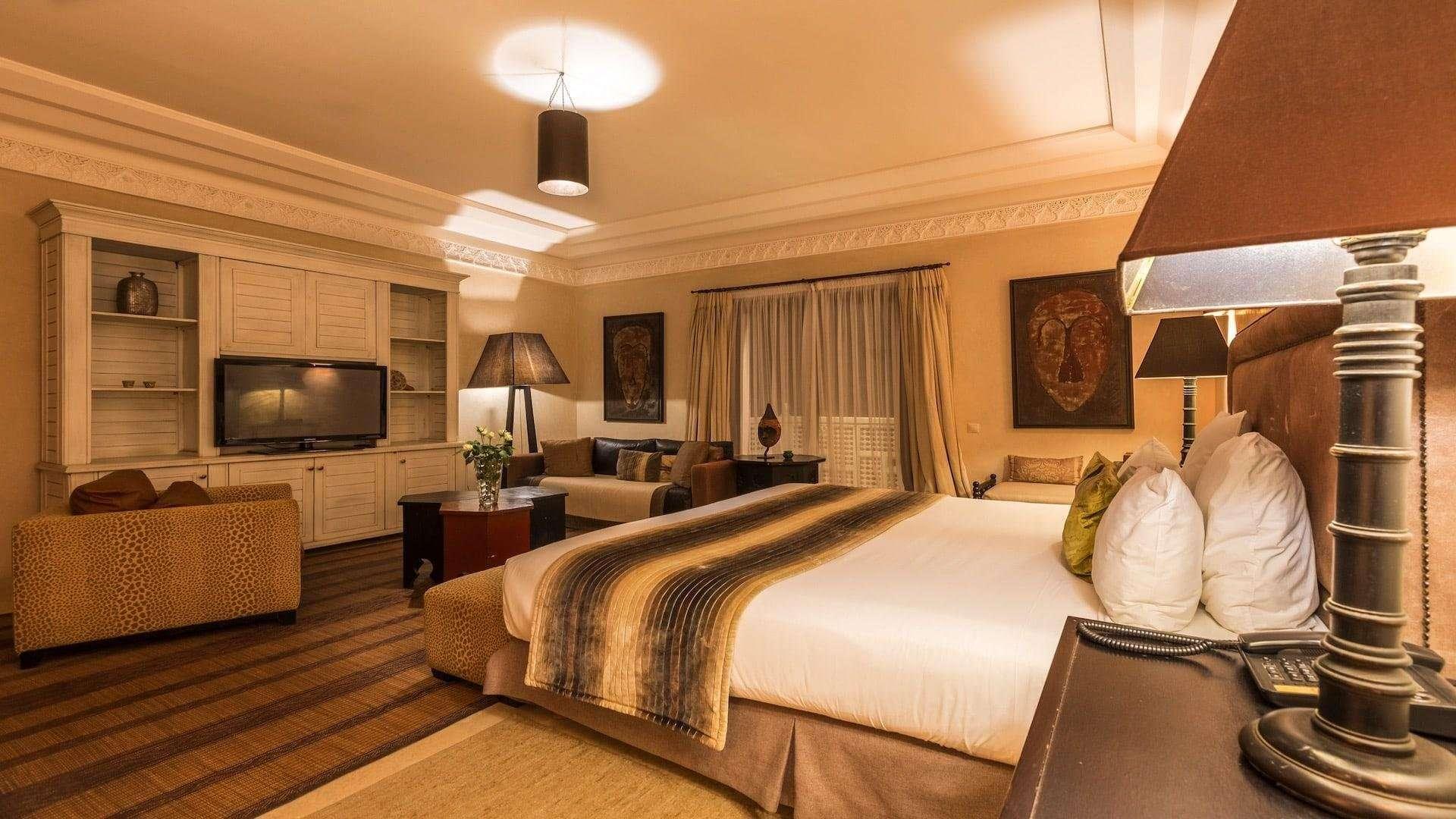Riad Villa Blanche kamer elegance - Agadir