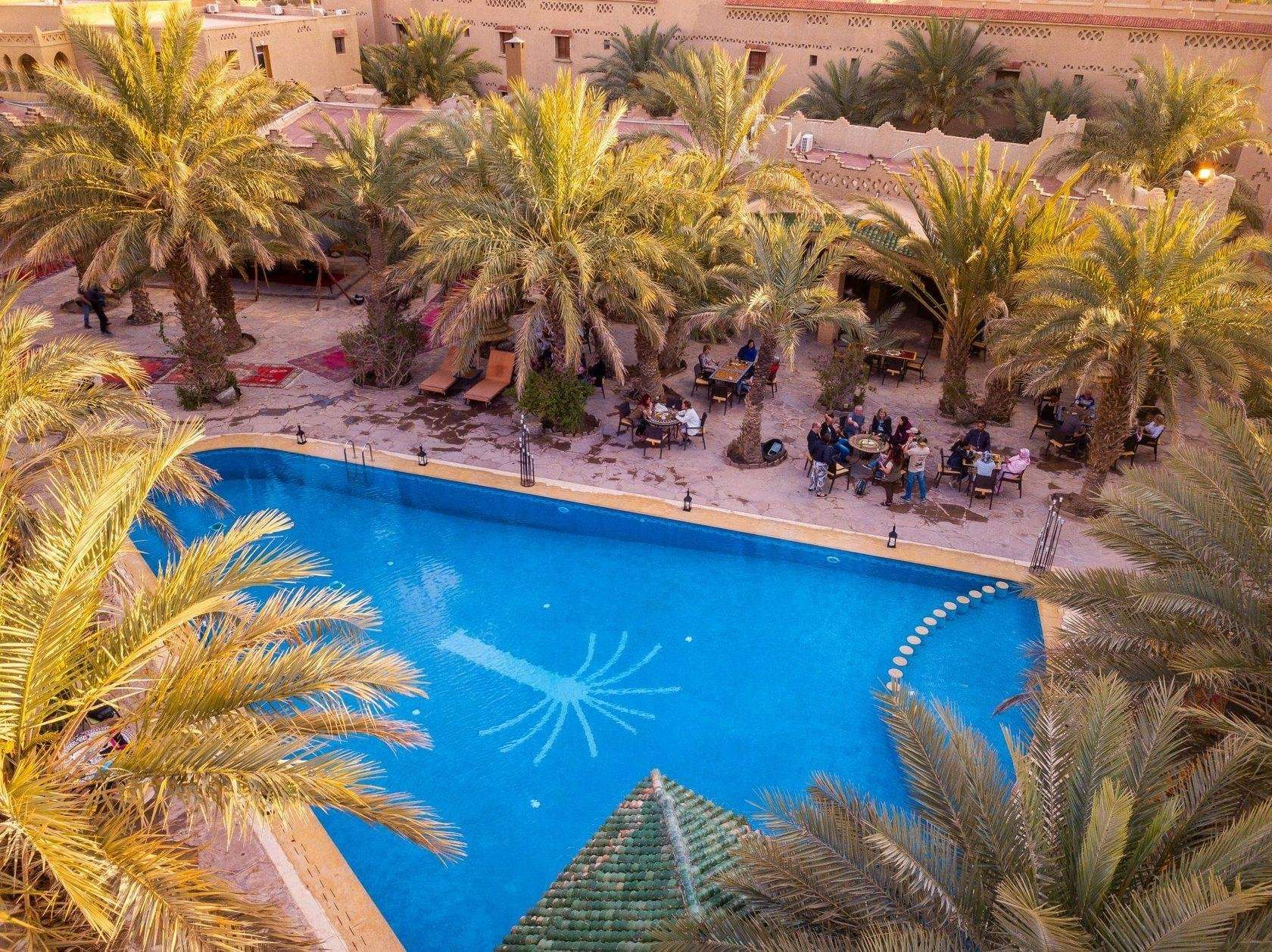 Hotel Xaluca Maadid zwembad - Erfoud