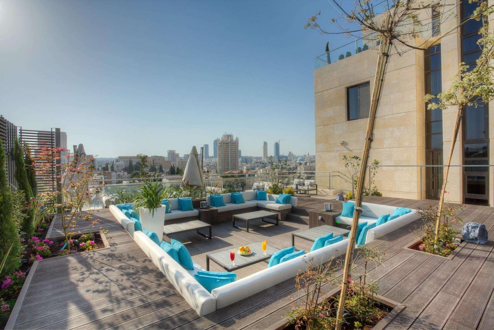 The House Boutique Suites terras - Amman