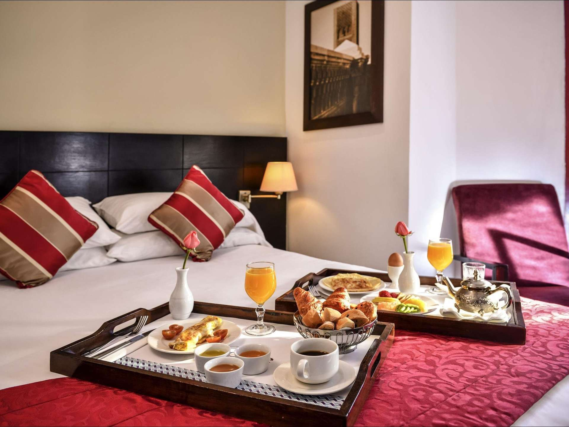 Hotel Mercure Sheherazade kamer - Rabat