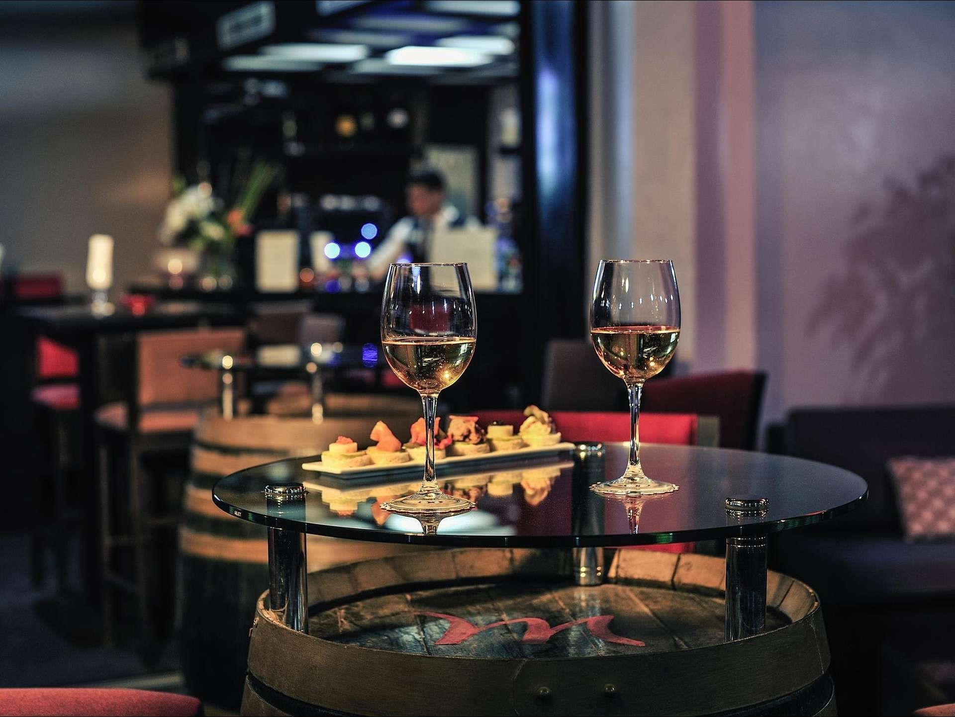 Hotel Mercure Sheherazade bar - Rabat